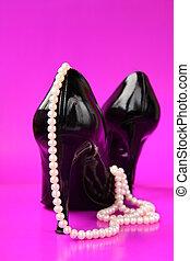 Black women shoes