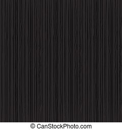 Black wood texture pattern background vector