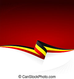 Black yellow red - Abstract color vector background Belgian...
