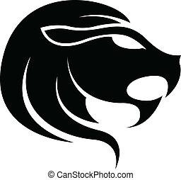 black , zodiac, leo, sterteken