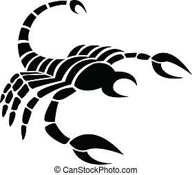 Black zodiacs scorpio