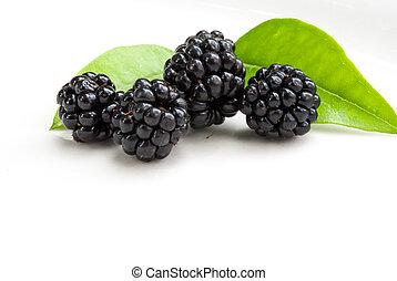blackberries,