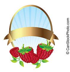 blackberries label