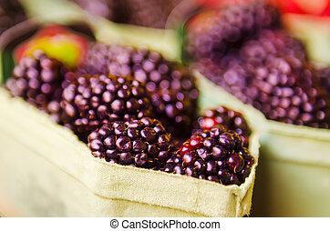 Blackberry at market