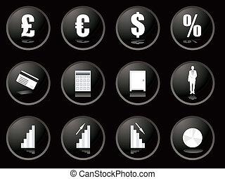 blackberry buttons financial