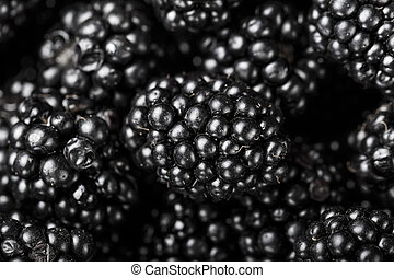Blackberry close-up background