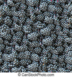 Blackberry seamless background.
