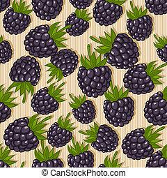 blackberry seamless pattern - berry seamless pattern -...