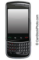 Blackberry torch Vector cell phone