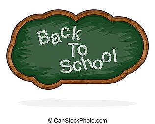 Blackboard Back to School cloud