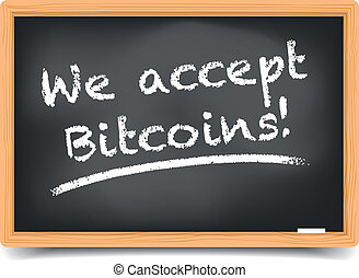 Blackboard Bitcoin
