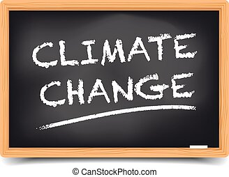 Blackboard Climate Change
