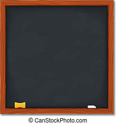 Blackboard, vector eps10 illustration