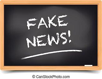 Blackboard Fake News