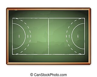 blackboard handball