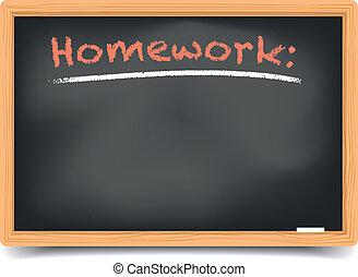 Blackboard homework