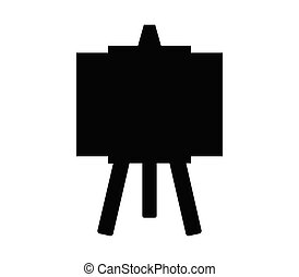 blackboard icon illustrated in vector on white background