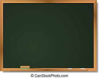 Blackboard - Image of a blank blackboard available in both ...