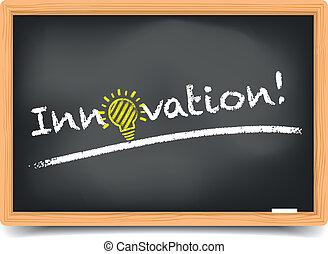 Blackboard Innovation - detailed illustration of a...