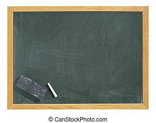 Blackboard, isolated - Greenboard / chalkboard / blackboard ...