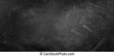 Blackboard or chalkboard - Chalk rubbed out on blackboard ...