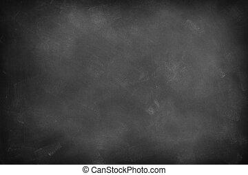 Blackboard or chalkboard - Chalk rubbed out on blackboard