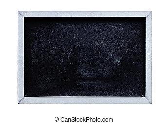 Blackboard or Chalkboard on White Background