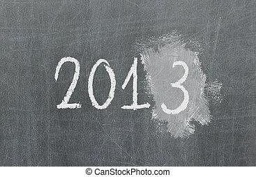 Blackboard or chalkboard texture, 2013