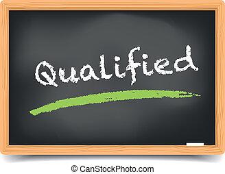 Blackboard Qualified