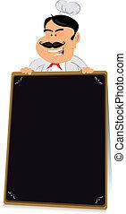 Blackboard Restaurant Sign