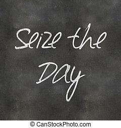 Blackboard Seize the Day