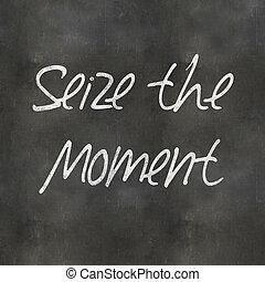 Blackboard Seize the Moment