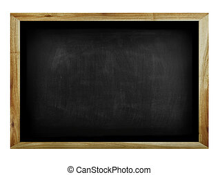 Blackboard isolated on a plain background