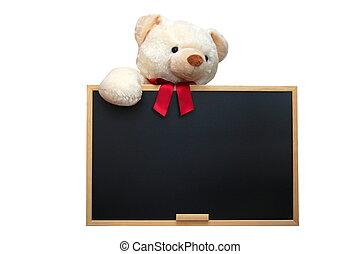 blackboard, tom, teddy