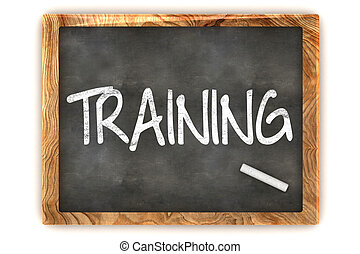 Blackboard Training - A Colourful 3d Rendered Concept ...