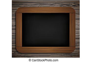 blackboard., vecteur, eps10