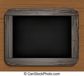 blackboard., vetorial, eps10