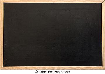 Blackboard with copy space - Plain blackboard with copy...