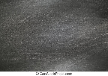 Blackboard with white chalk scratched on texture. Hand drawn texture of black chalk board.