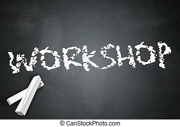 Blackboard Workshop - Blackboard with Workshop wording