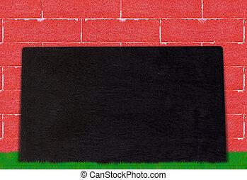 Blackboard/Chalkboard on Grass