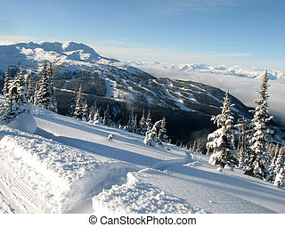 Blackcomb Mountain - Whister, BC, Canada - Whistler /...