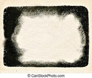 blackenning frame