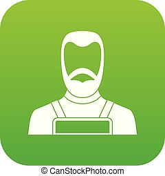 Blacksmith icon digital green