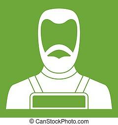 Blacksmith icon green