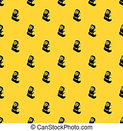Blacksmith pattern vector - Blacksmith pattern seamless...