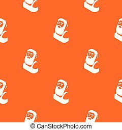 Blacksmith pattern vector orange for any web design best