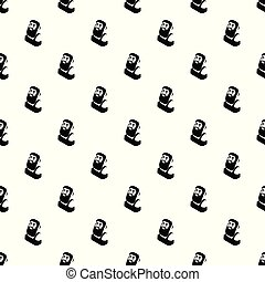 Blacksmith pattern vector seamless repeating for any web...