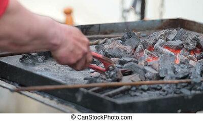 Blacksmith's hands