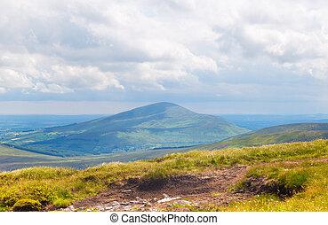 blackstairs, montaña, carlow, condado